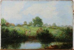 British School (19th Century), Painting