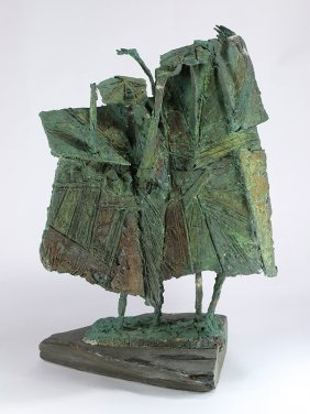 Bronze Sculpture, Two Figures