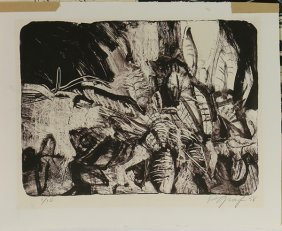 Assorted Biomorphic Abstract Prints, Richard Graf