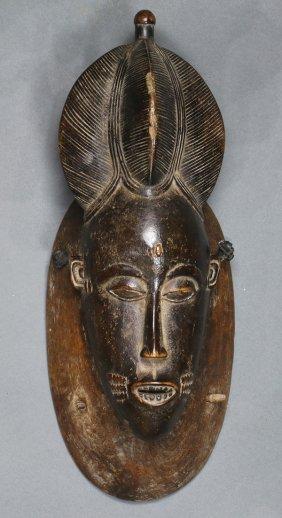 Guro, Cote D'ivoire Mask, Having An Elaborate Coiffure,