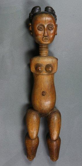 Akan, Ivory Coast/ghana/lagoon Carved Pretty Female
