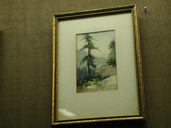 2001: Watercolor, Californian 20th