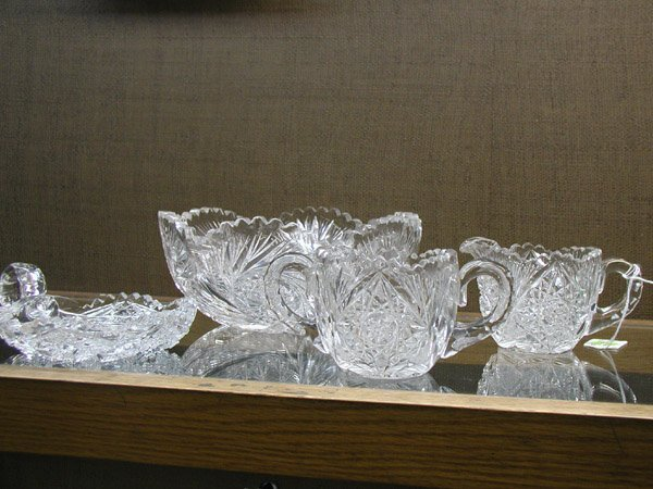 2007: Four crystal table articles