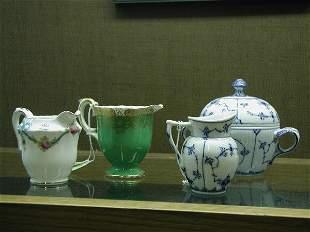 Porcelain creamers