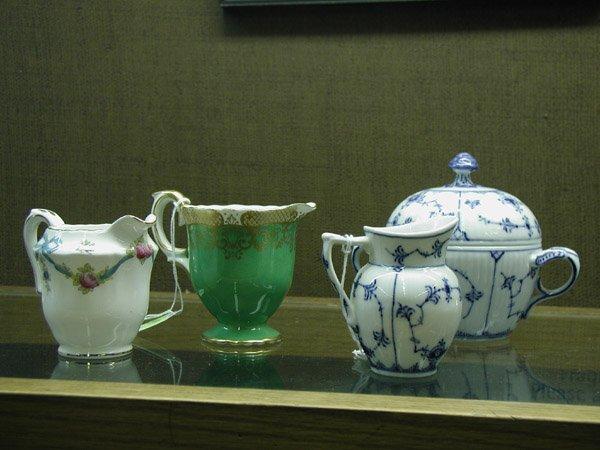 2008: Porcelain creamers