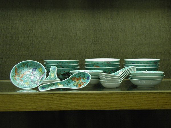 2014: Qianlong style dinnerware