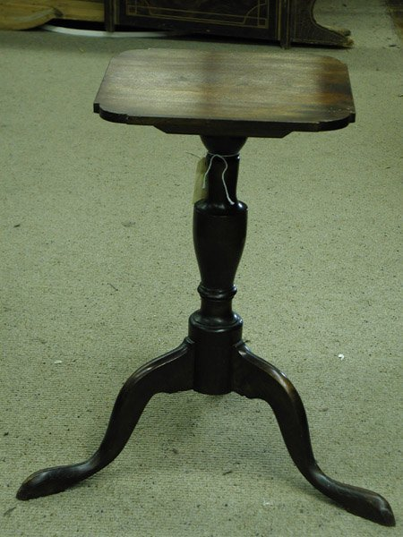 2018: Cherrywood candlestand, reduced, early 19th centu