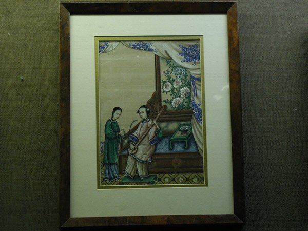 2021: China Trade watercolor/pith, 19th century