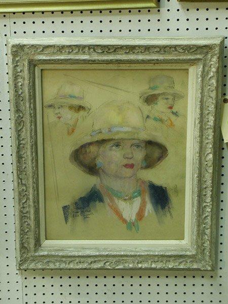 2203: Pastel, American 19th-20th century
