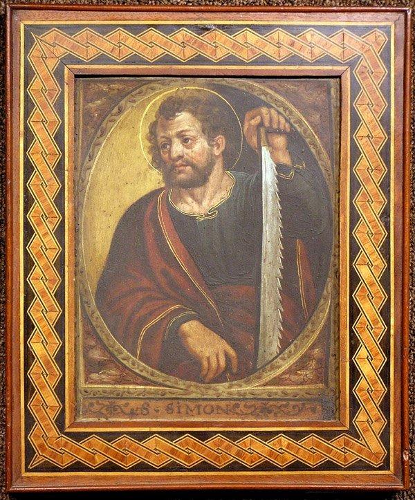 6000: Oil/copper, Saint Peter, 18th/19th