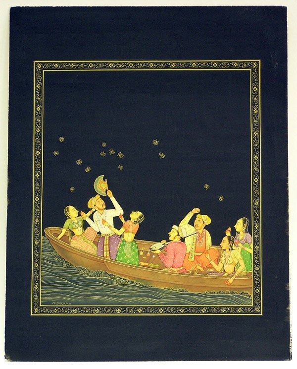 6011: Indian miniature gouache, Prajapati