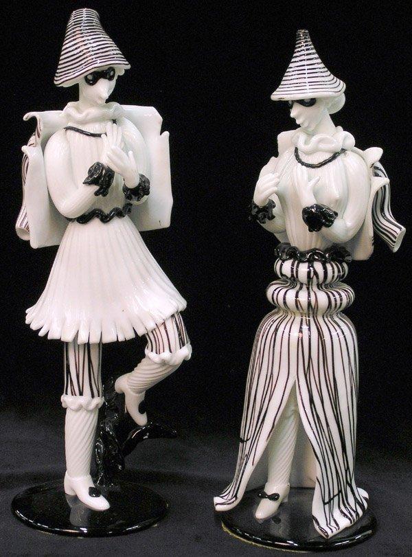 6017: Murano Mardi Gras Figures