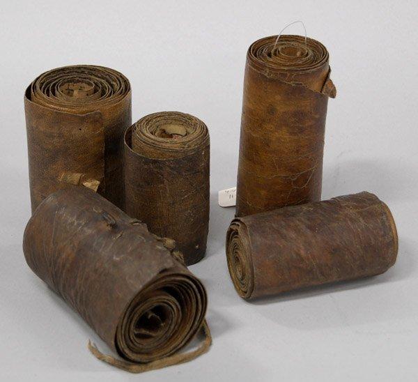 6394: Ethiopian coptic scrolls