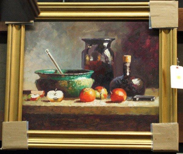 4000: Oil on canvas, Still Life