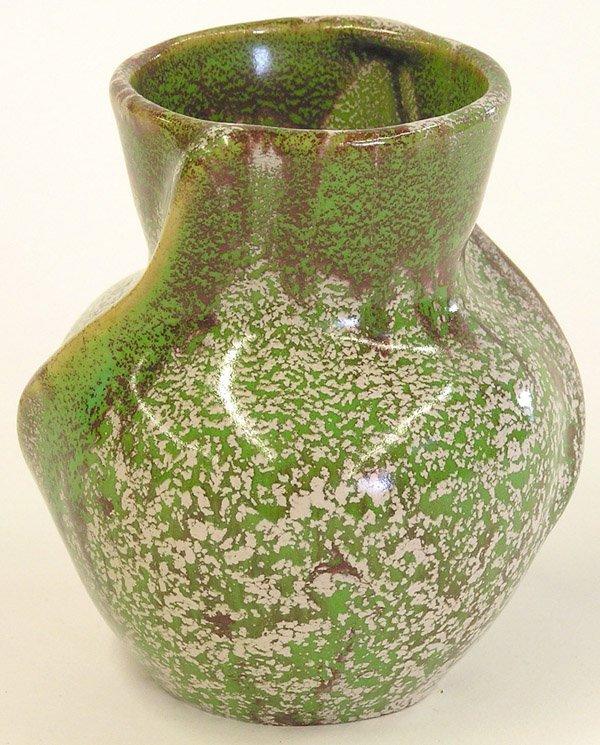4011: Weller pottery vase