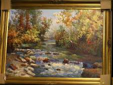4389 Oilcanvas Landscape contemporary