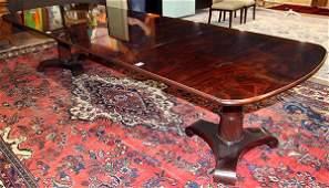 (Lot of 13) Regency style formal dining suite,