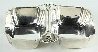 American Cellini Craft sterling silver trefoil form