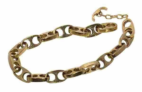 Caesars 14k yellow gold bracelet