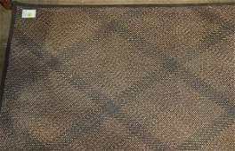 Woven modern bamboo mat 4 x 93