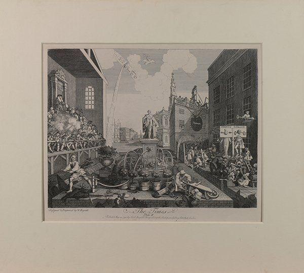 Hogarth, Delacroix, and Goltzius, Prints