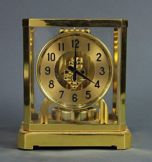 Jaeger Le Coultre Atmos clock
