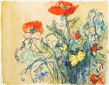 Work on paper, Attributed to Charles Burchfield