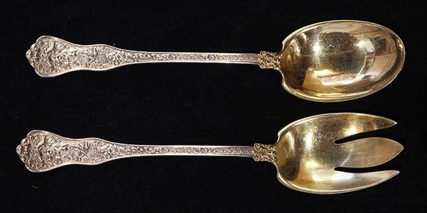 American Tiffany & Company sterling silver salad