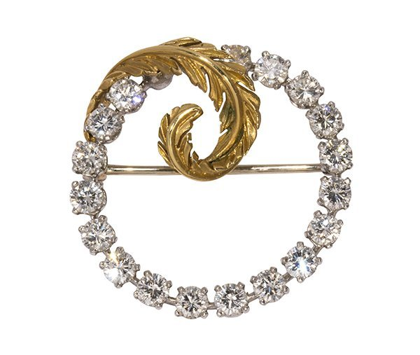 Tiffany & Co., diamond, platinum and 18k yellow gold