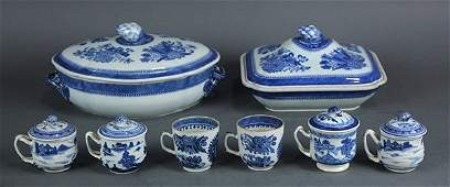 Chinese Blue and White Export Porcelain