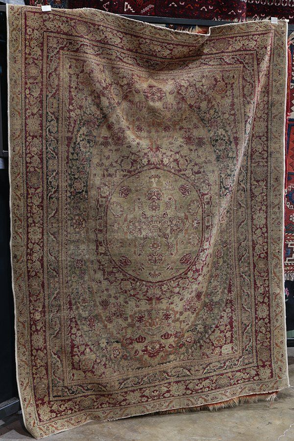 Lavar Kerman carpet, circa 1890, 4'4'' x 6'4''
