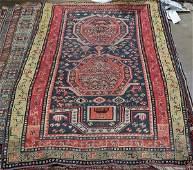 "Kazak Prayer rug, 3'11"" x 5'6''"