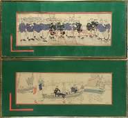 Prints, Henri Gervese, French Naval Maritime Scenes