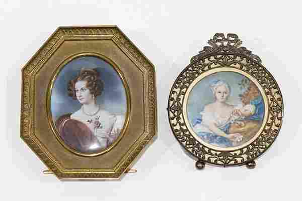 Portraits of a Lady, miniature portraits