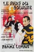 Vintage Poster, Georges Dola, Le Pays du Sourire