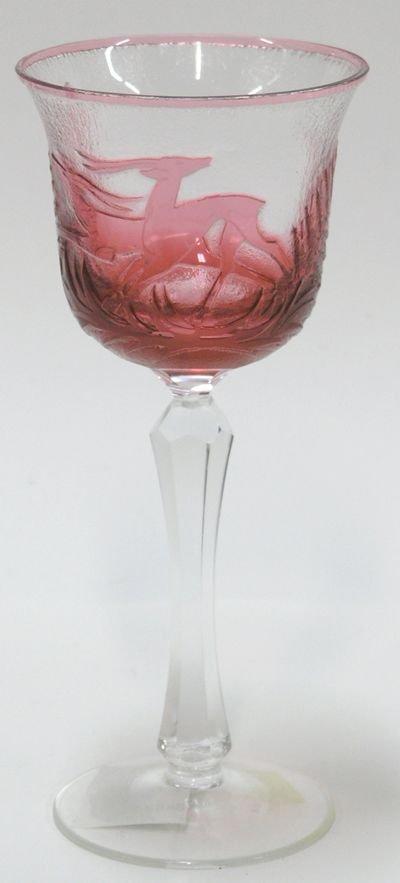 22A: Pate de Verre goblet