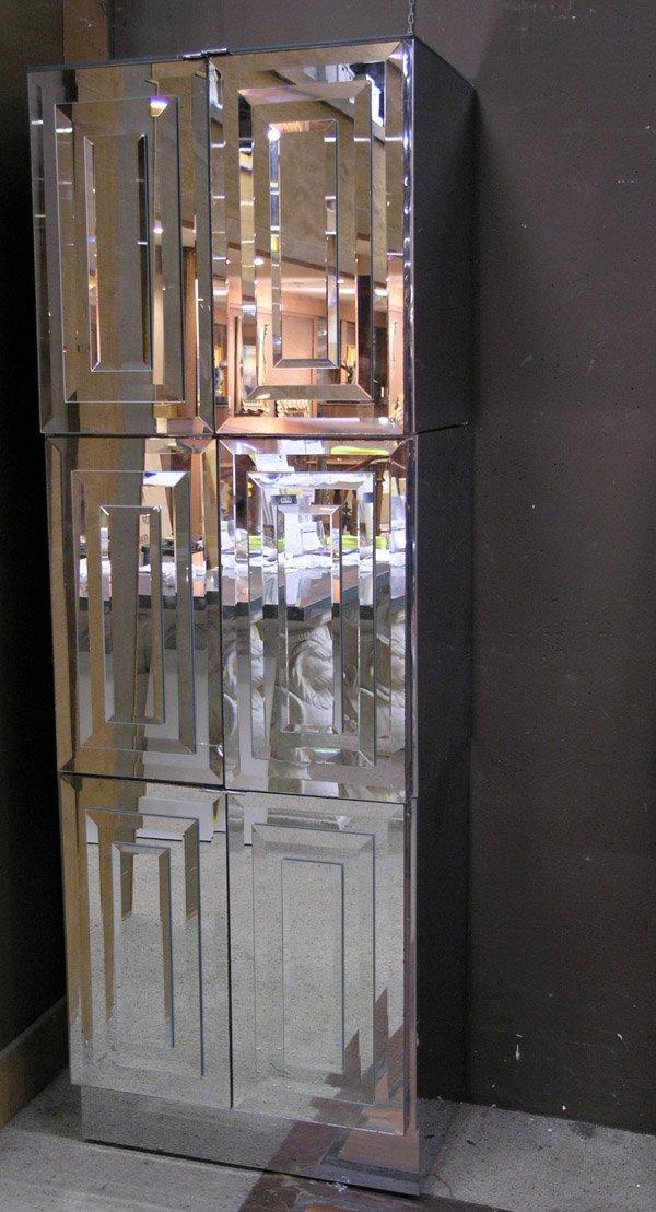 159: Modular Pop-Art Mirrored Wall Unit - 3
