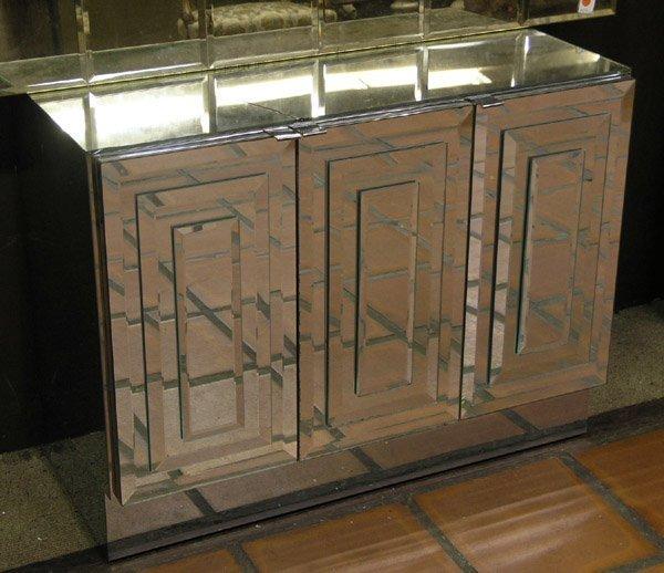159: Modular Pop-Art Mirrored Wall Unit - 4