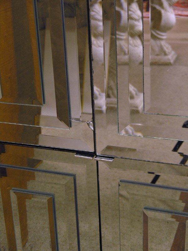 159: Modular Pop-Art Mirrored Wall Unit - 7