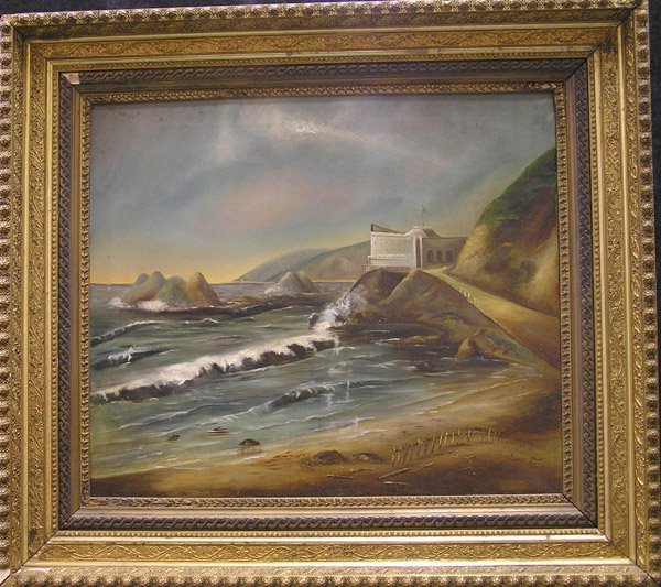 260: Oil, Cliff House, San Francisco, Fiel