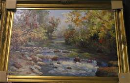 393 Oilcanvas Landscape contemporary