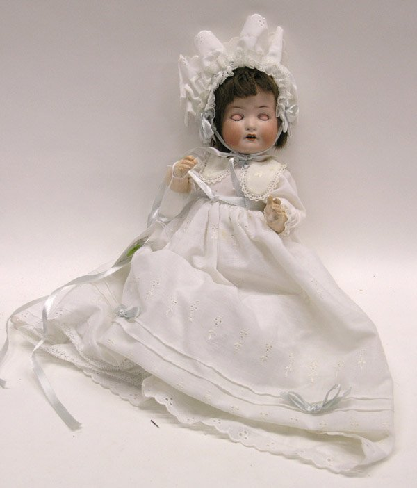 1817: Bisque head Heuback Kapplesdorf doll