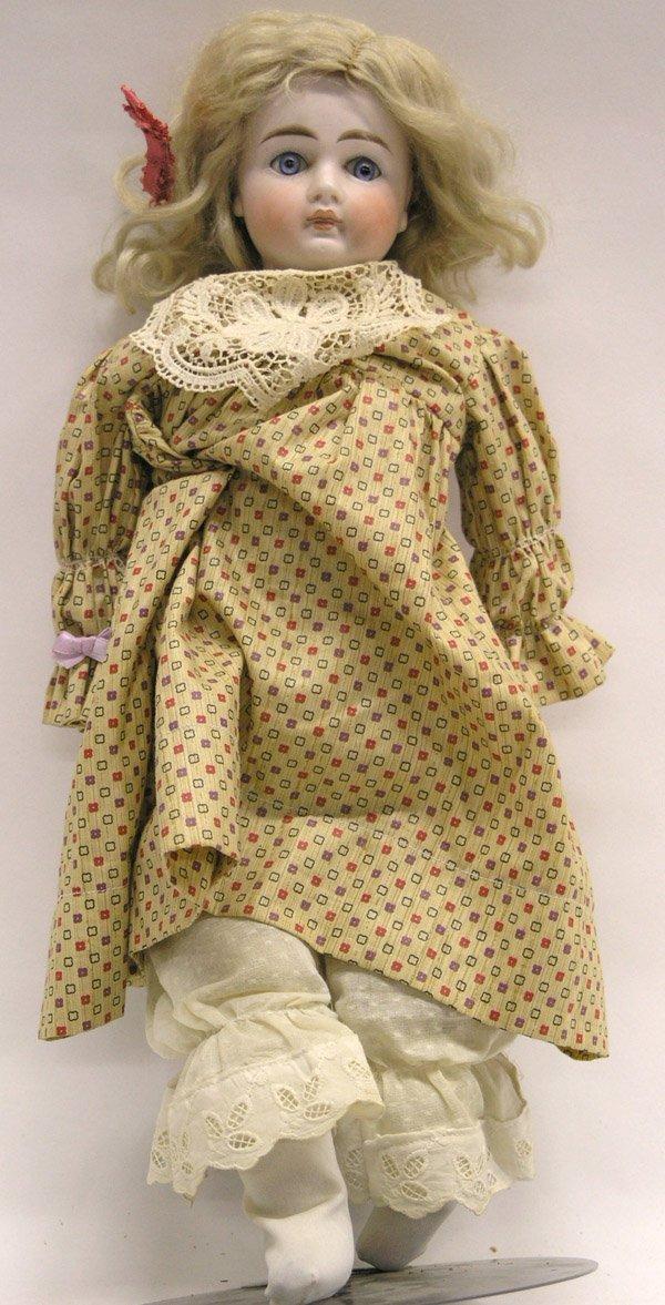 1818: German bisque head doll