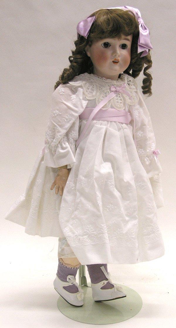 1823: Queen Louise German bisque head doll