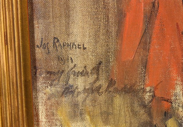 Painting, Joseph Raphael - 3