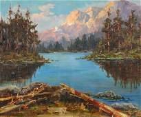 Painting, Arthur Chance Amos