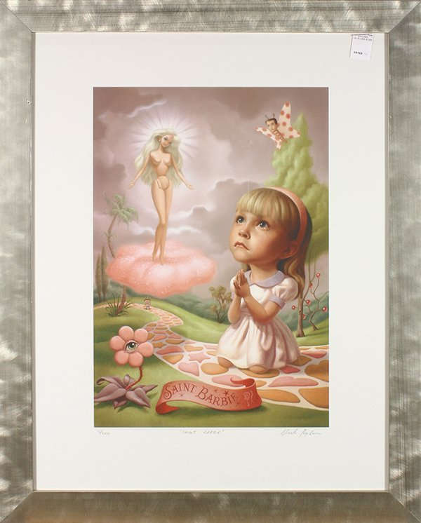 Print, Mark Ryden, Saint Barbie - 2