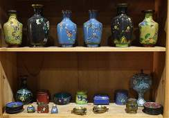 Group of Chinese Cloisonne