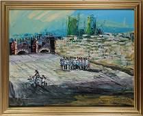 Painting, Moris Katz
