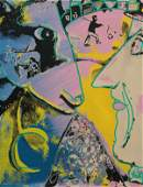 PaintingPrint Steve Kaufman Hommage to Chagall
